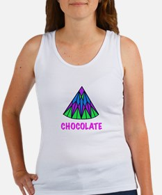 CHOCOLATE, abstract Women's Tank Top