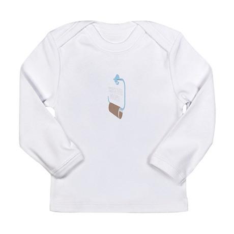 Toilett Long Sleeve Infant T-Shirt