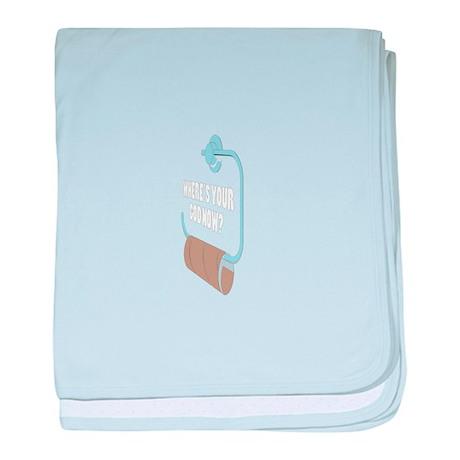 Toilett baby blanket