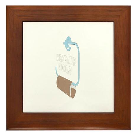 Toilett Framed Tile