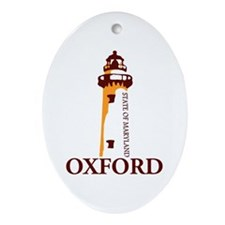 Oxford MD. Ornament (Oval)