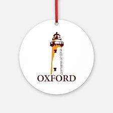 Oxford MD. Ornament (Round)