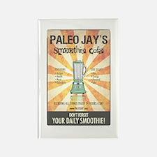 Paleo Jays Smoothie Cafe Rectangle Magnet
