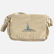 Oxford MD - Sailboat Design. Messenger Bag