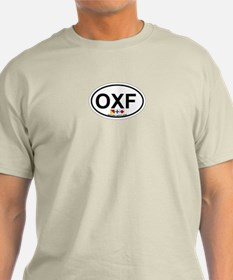 Oxford MD - Oval Design. T-Shirt
