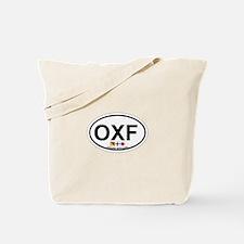 Oxford MD - Oval Design. Tote Bag