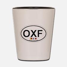 Oxford MD - Oval Design. Shot Glass