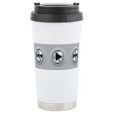 Play Buttons Travel Mug