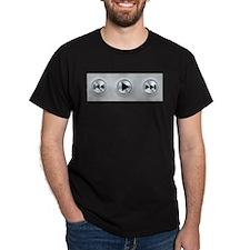 Play Buttons T-Shirt