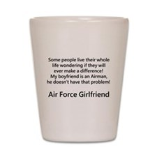 Air Force GF Make Difference Shot Glass