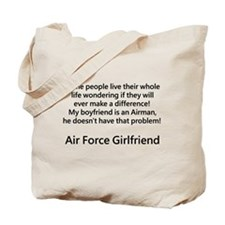 Air Force GF Make Difference Tote Bag