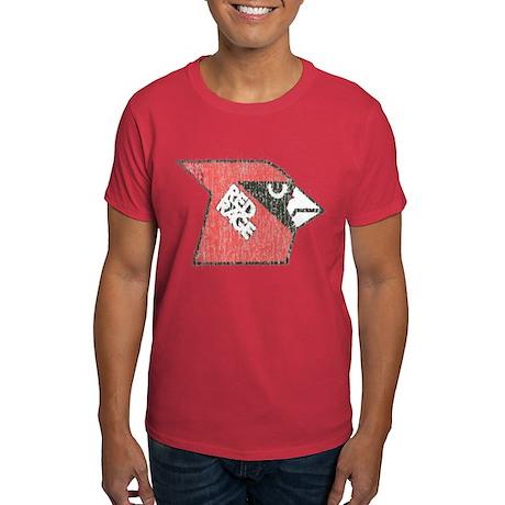 Red Rage Faded Dark T-Shirt