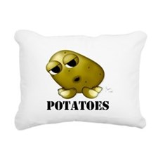 Potatoes Rectangular Canvas Pillow