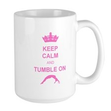 Keep calm and tumble pink Coffee Mug