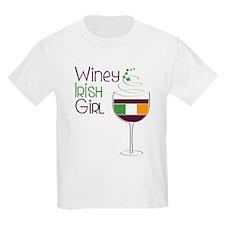Winey Irish Girl T-Shirt