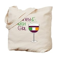 Winey Irish Girl Tote Bag