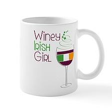 Winey Irish Girl Mug