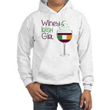 Winey Irish Girl Hoodie