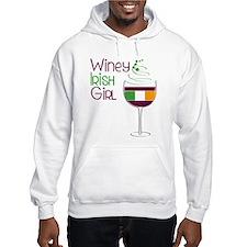 Winey Irish Girl Jumper Hoody