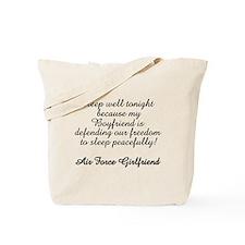 AF GF Sleep Well Tote Bag