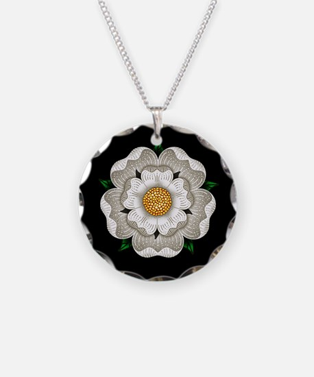 White Rose Of York Necklace