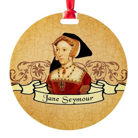 Jane Seymour Round Ornament