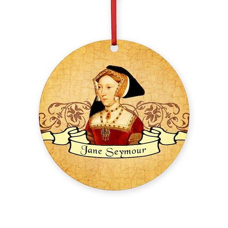 Jane Seymour Ornament (Round)