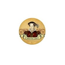 Catherine Parr Mini Button