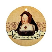 Catherine Of Aragon Ornament (Round)