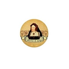 Catherine Of Aragon Mini Button
