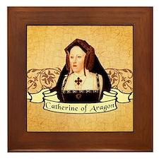 Catherine Of Aragon Framed Tile