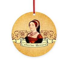 Catherine Howard Ornament (Round)