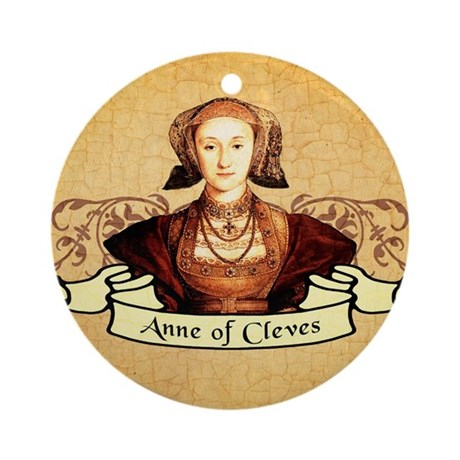 Anne Of Cleves Ornament (Round)