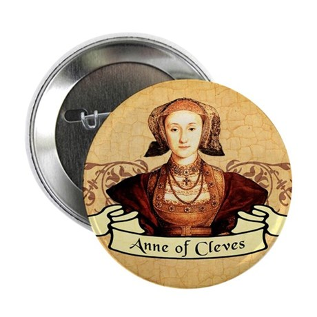 """Anne Of Cleves 2.25"""" Button"""