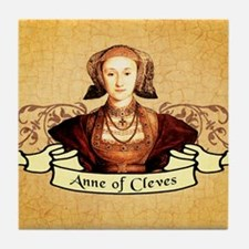 Anne Of Cleves Tile Coaster