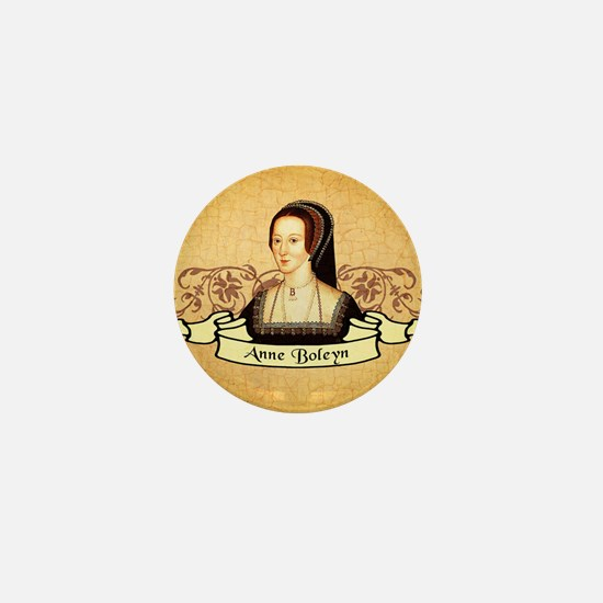 Anne Boleyn Mini Button