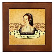 Anne Boleyn Framed Tile