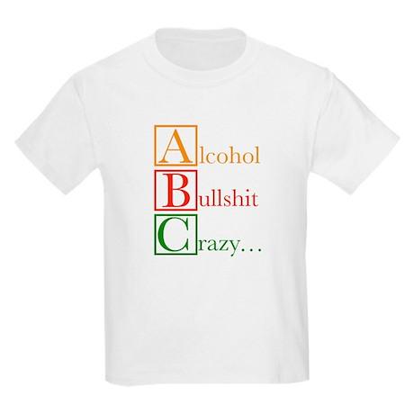 The REAL ABC's... Kids Light T-Shirt