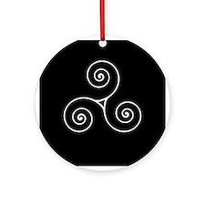 Triskele Ornament (Round)