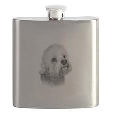 Dandie Dinmont Terrier Flask