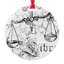 Worn Zodiac Libra Ornament