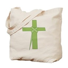 Palm Leaf Folded Tote Bag