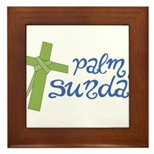 Palm Sunday Framed Tile