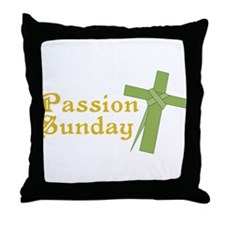 Passion Sunday Throw Pillow