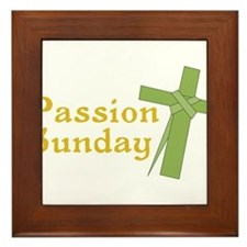Passion Sunday Framed Tile