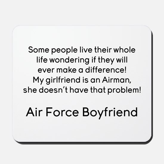 AF BF No Problem Mousepad