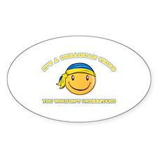 Ukrainian Smiley Designs Decal
