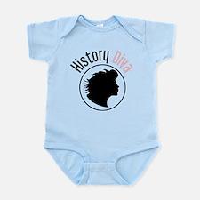 History Diva Infant Bodysuit