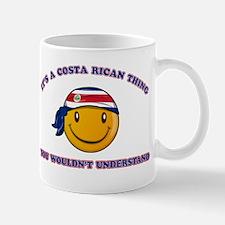 Costa Rican Smiley Designs Mug