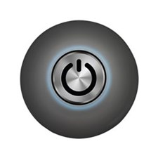 """Power Button On 3.5"""" Button (100 pack)"""